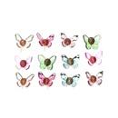Ensemble de boucles d39oreilles papillon couleur coren pour enfants NHNU270221