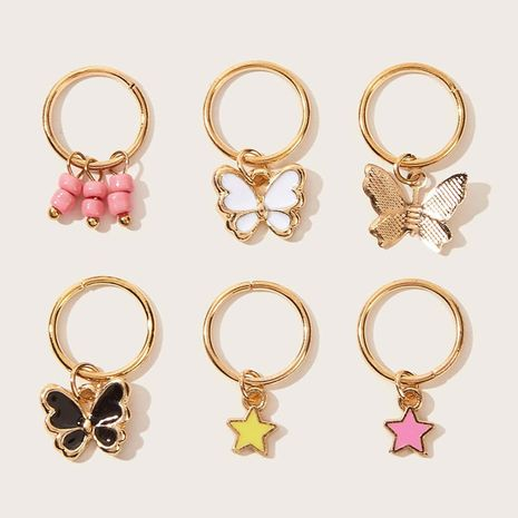 fashion popular butterfly earrings set  NHAU270243's discount tags