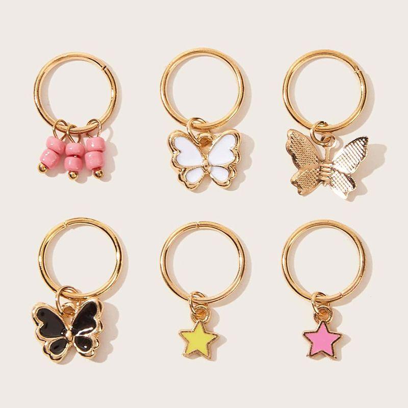 fashion popular butterfly earrings set  NHAU270243