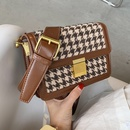 new trendy fashion plaid allmatch  shoulder messenger bag NHLH270264