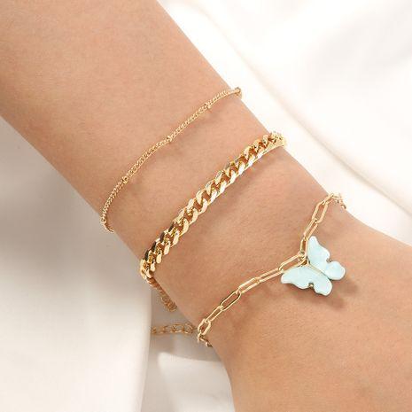 nouveau bracelet papillon simple créatif NHAN270308's discount tags