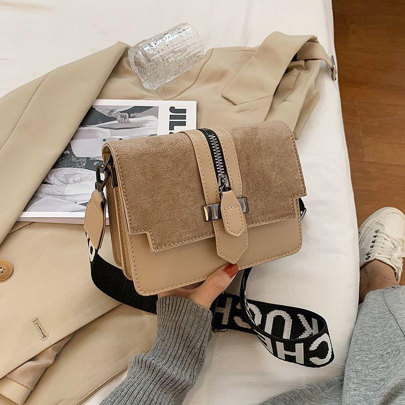 new trendy fashion all-match texture broadband messenger bag NHJZ270363