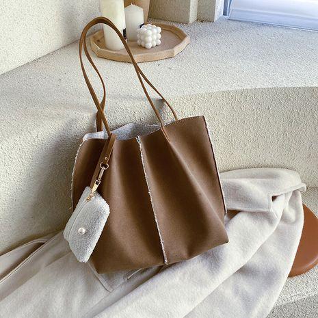 new Korean fashion   large capacity wild fashion diagonal tote bag  NHJZ270376's discount tags