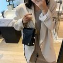fashion new chain mini mobile phone bag korean  wild oneshoulder messenger bag NHJZ270382