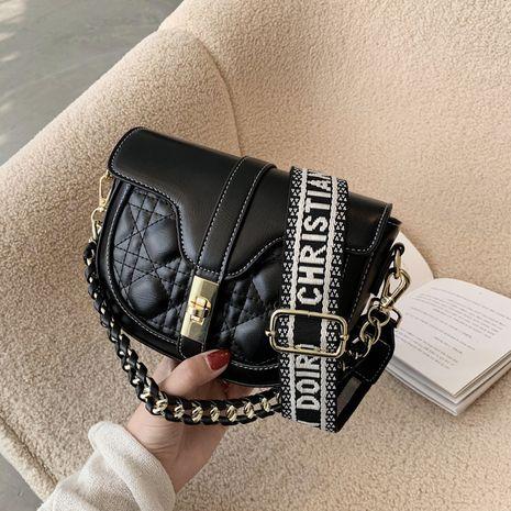 new trendy fashion handbags chain saddle bag NHGA270405's discount tags