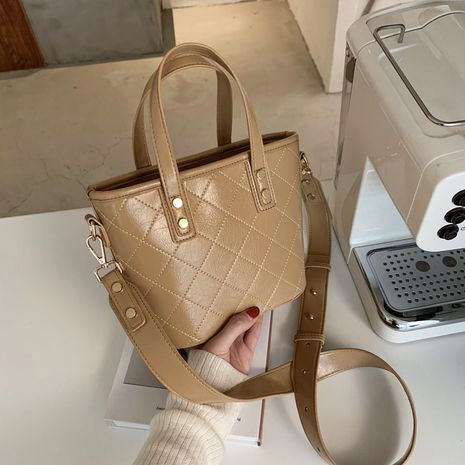 bolso de hilo de bordado de rombo coreano new wave bolso diagonal de hombro NHJZ270427's discount tags