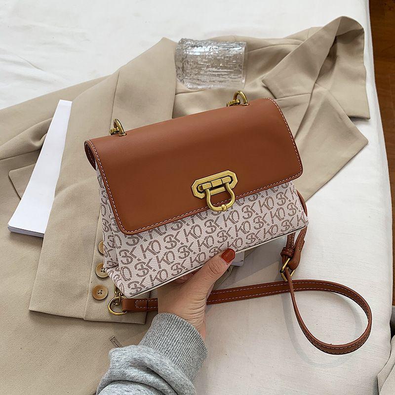 popular new trendy one-shoulder chain bag  NHJZ270430