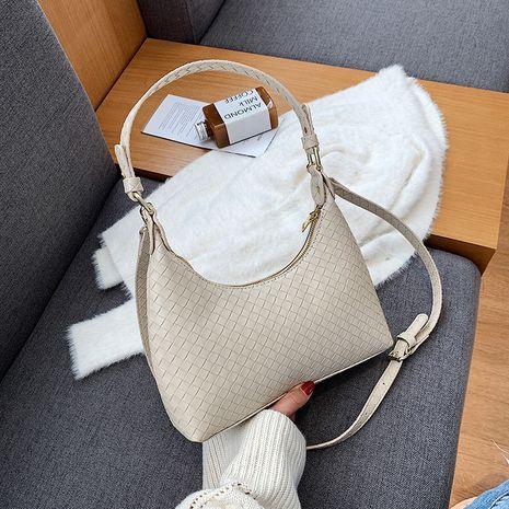 nuevo bolso de hombro de moda retro de moda bolso de baguette popular simple coreano NHJZ270433's discount tags