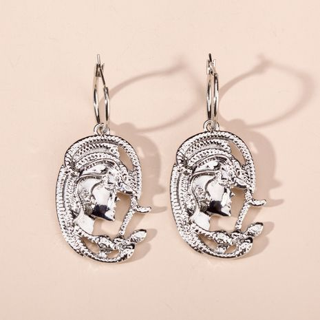 Retro Beauty Snake Element Alloy Earrings  NHQC270492's discount tags