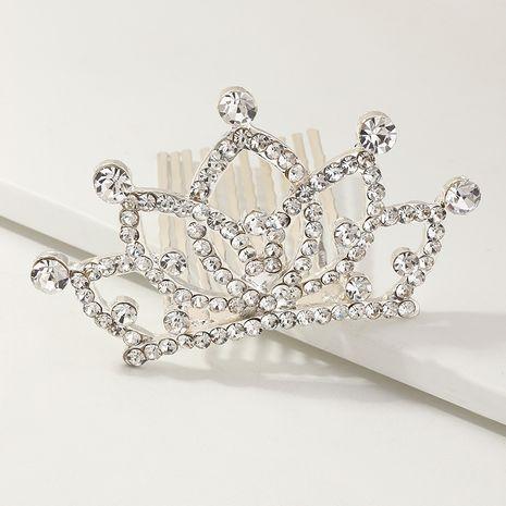 Corona infantil de diamantes de imitación coreanos NHNU270530's discount tags