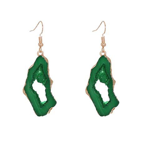 Boucles d'oreilles géométriques en résine acrylique en pierre all-match de vente chaude NHJJ270582's discount tags