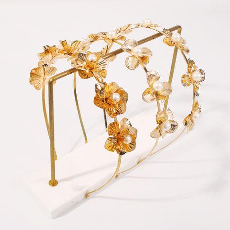 flower fairy  pearl  fashion headband  NHMD270677's discount tags