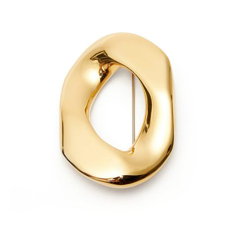 geometric smooth irregular brooch  NHNT270696's discount tags