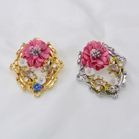 Trendy Women's flower Crown Brooch  NHNT270699's discount tags
