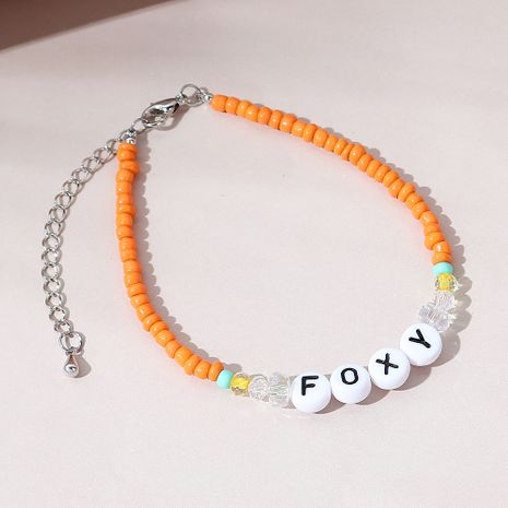 Korean creative all-match  fashion letter bracelet NHPS270767's discount tags