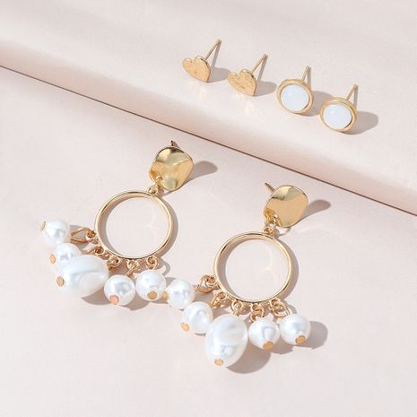 Korean  retro fashion creative  trendy  earring set NHPS270774's discount tags