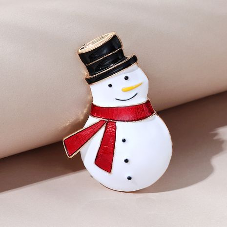 Christmas series cute wild sweet little fresh snow doll brooch NHPS270783's discount tags