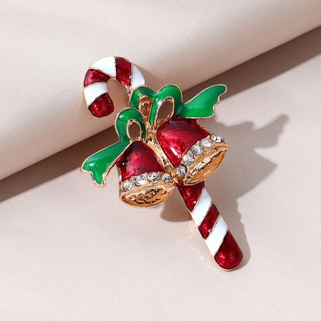 sweet  wild fashion popular Christmas bell brooch NHPS270785's discount tags