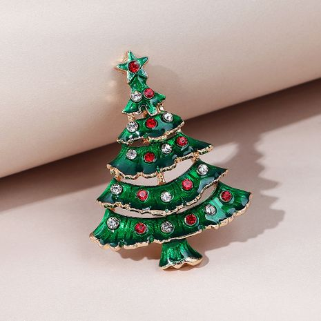 fashion wild  trendy popular Christmas tree brooch NHPS270786's discount tags
