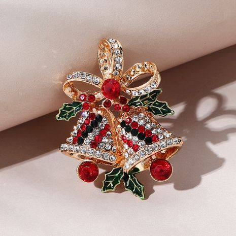 Christmas series  sweet wild   double bell brooch NHPS270787's discount tags