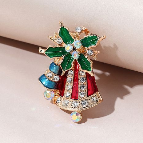creative wild  Christmas bell brooch NHPS270790's discount tags