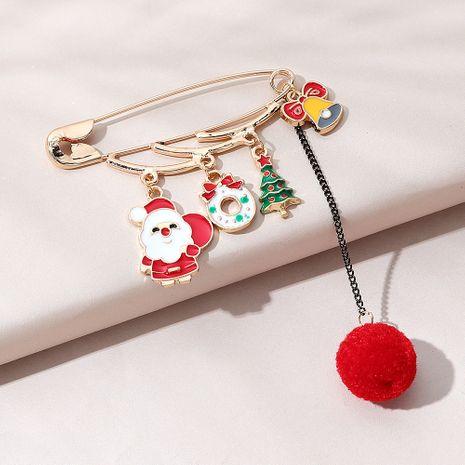 Weihnachtsserie beliebte wilde kreative Santa Brosche NHPS270797's discount tags