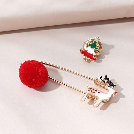 All-Match beliebte Weihnachts Rentier Brosche Set NHPS270806's discount tags