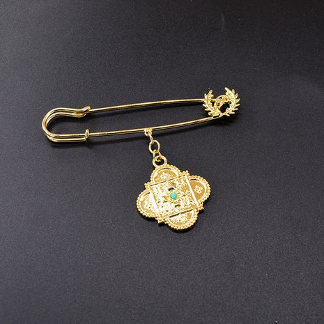 Fashion simple pin key ring brooch  NHNT270844's discount tags