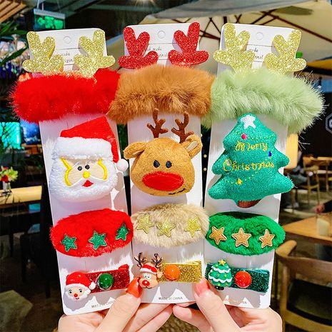 Épingles à cheveux d'élan âgés d'arbres de Noël NHNA270862's discount tags