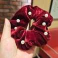 NHUX1194630-Burgundy-Velvet-Pearl-Large-Intestine-Hair-Tie