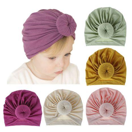 bonnet beignet en coton tricoté NHDM270935's discount tags
