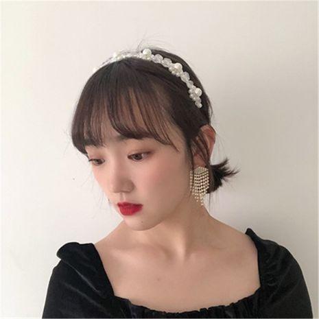 Korean  sweet pearl headband NHYQ271278