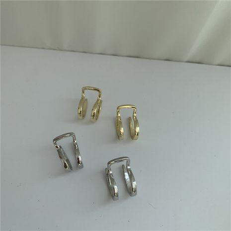 pendiente de medio círculo simple de moda NHYQ271299's discount tags
