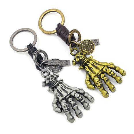 New creative  exaggerated zinc alloy keychain NHHM271344's discount tags