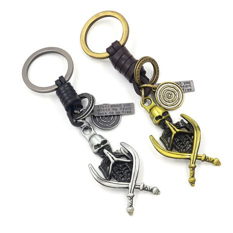 Retro hand-woven keychain  NHHM271345's discount tags
