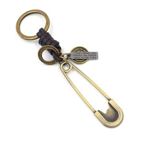 Korea kreative Geschlecht Pin Form Schlüsselbund NHHM271347's discount tags