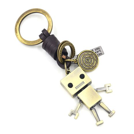 hot-selling keychain big head robot pendant creative car keychain  NHHM271348's discount tags