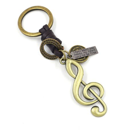 Music symbol keychain NHHM271352's discount tags