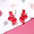 NHOM1197916-Dark-Red-925-Silver-Stud-Earrings