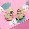 NHOM1197928-Beige-925-Silver-Pin-Stud-Earrings
