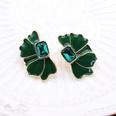NHOM1197930-Green-925-Silver-Stud-Earrings