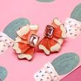 NHOM1197932-Orange-925-Silver-Stud-Earrings