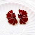 NHOM1197933-Red-925-Silver-Stud-Earrings