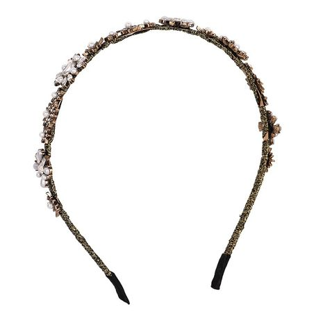retro baroque  gold coins rhinestone headband NHYQ271289's discount tags