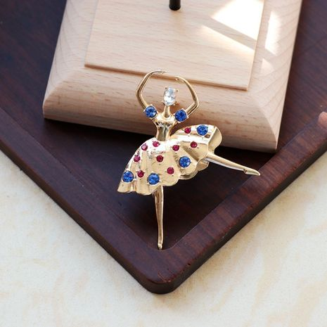 Fashion Ballet Dancing Girl Brooch  NHOM271535's discount tags