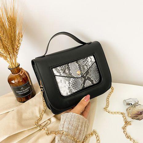 Automne et hiver casual nouvelle mode imprimé serpent épaule messenger petit sac carré NHRU271622's discount tags