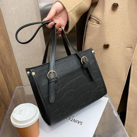 nouveau petit sac portable simple de messager d'épaule simple à la mode NHRU271634's discount tags