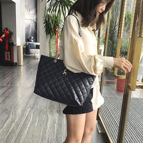 new large-capacity Korean fashion rhombic bag NHRU271631's discount tags