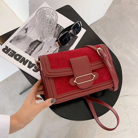 retro women's new fashion frosted shoulder messenger small square bags NHTC271673's discount tags