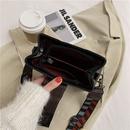 new trendy  retro wide shoulder strap messenger bag NHTC271693